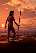 Dawn of Man,illustration