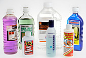 Domestic solvent-based cleaners