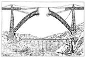 Garabit viaduct,19th century
