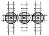 Railway turntables,19th century