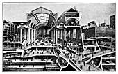 Grand Central Terminal construction,1911
