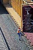 Railway worker,USA