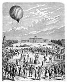 Montgolfier 'Le Globe' balloon,1783