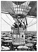 Andree's Arctic balloon expedition,1897