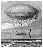 'Dupuy de Lome' airship,1872