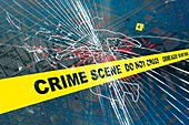 Crime Scene,illustration