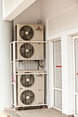 Air conditioning units on Lemnos,Greece