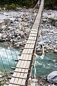 Suspension bridge near Annapurna