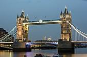 Tower Bridge across the River Thames