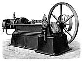 Ravel gas engine,19th century