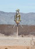 Xombie rocket craft test flight,2013