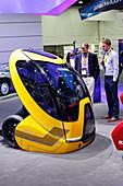 Chevrolet driver-less concept car