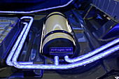 Hydrogen fuel cell concept car