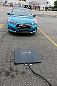Wireless vehicle charging system
