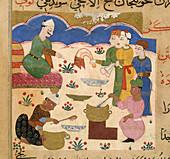 Preparation of halwa
