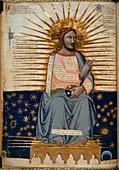 Illustration of Christ in Heaven