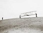 Wright brothers Kitty Hawk glider,1902