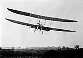 Wright Model H airplane,1914