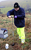 Environmental soil monitoring