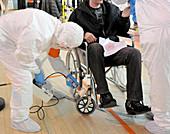 Radiation emergency response training