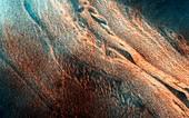 Chasma Boreale,Mars,satellite image