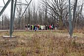 Wildlife habitat tour of corporate land