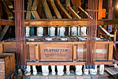Historic flour mill sifter