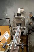 Marijuana products factory