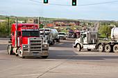 Oil trucks,USA