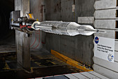 Space Launch System testing,illustration