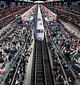 Rail overcrowding