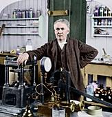 Thomas Edison,US inventor
