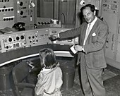Stanislaw Ulam at MANIAC panel,1955