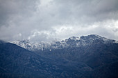 Snow-capped mountains,South Africa