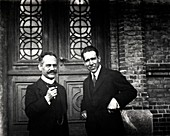 Sommerfeld and Bohr,physicists