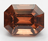 Cut Zircon gemstone