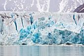 A glacier in northern Svalbard