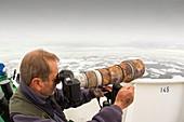 A wildlife photographer