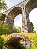 An ancient packhorse bridge in Dentdale