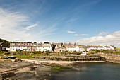 Craster village and harbour