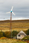A croft powered by wind and solar