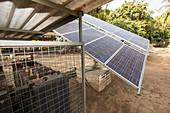 Solar panels,India