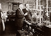 Irving Langmuir and Guglielmo Marconi