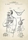 Smoke excluding mask patent,1877