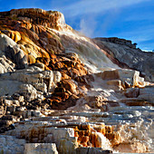 Mammoth Hot Springs,Yellowstone