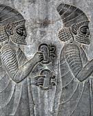 Bas-relief,Persepolis,Iran