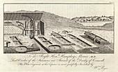 Mining ore pits,1778