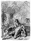 Ball lightning kills Richmann,1753