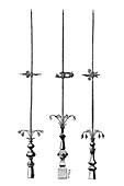 Lightning rods,19th century