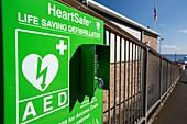 A heartsafe defibrillator
